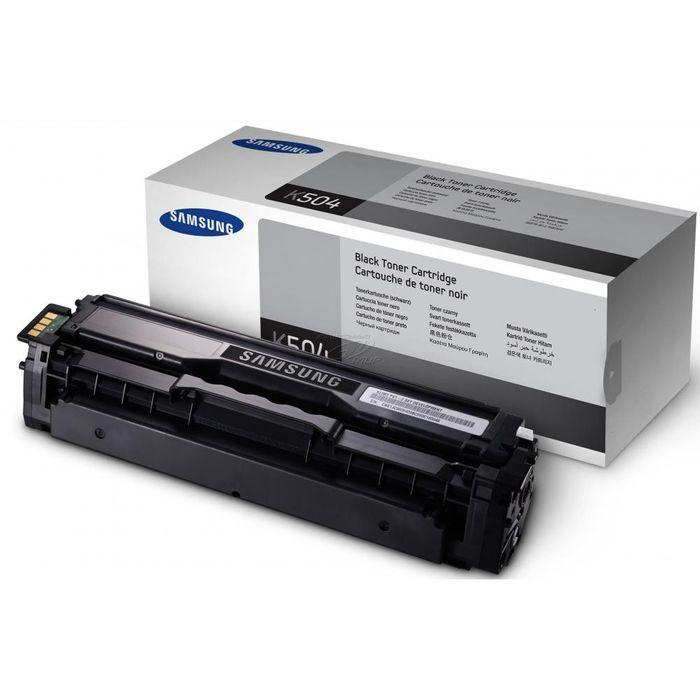 Original Samsung Toner CLT-K504S black