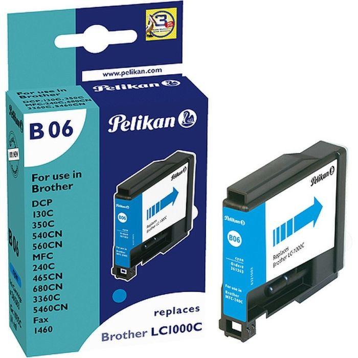 Pelikan B06 komp. zu Brother LC1000C Cyan