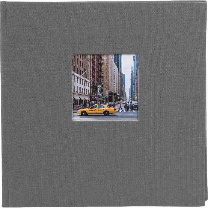 Goldbuch Bella Vista grau, 30x31 cm 60 weiße Seiten, Buchalbum