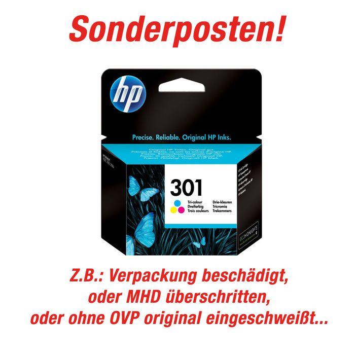 Sonderposten Original HP Tinte farbig Nr. 301 - CH562EE Farbpatrone