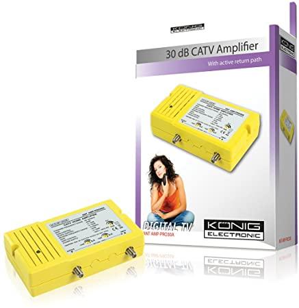 KÖNIGELECTRNOIC 30 dB CATV Amplifier ANT AMP-PRO30