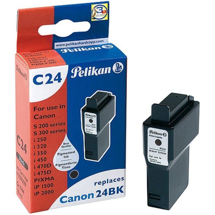 Pelikan C24 kompatibel Canon BCI-24 bk Schwarz