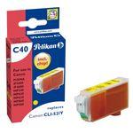 Pelikan C40 Tintenpatrone ersetzt Canon CLI-521Y Gelb / Gelb 001
