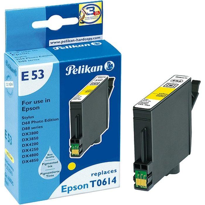 Pelikan E53 kompatibel Epson T0614 Gelb