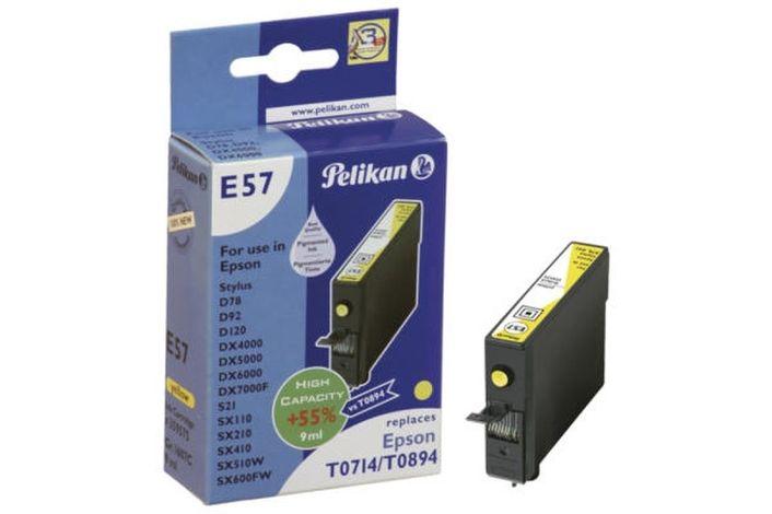 Pelikan E57 kompatibel Epson T071440 Gelb