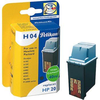 Pelikan H04 kompatibel HP 20 C6614 Schwarz