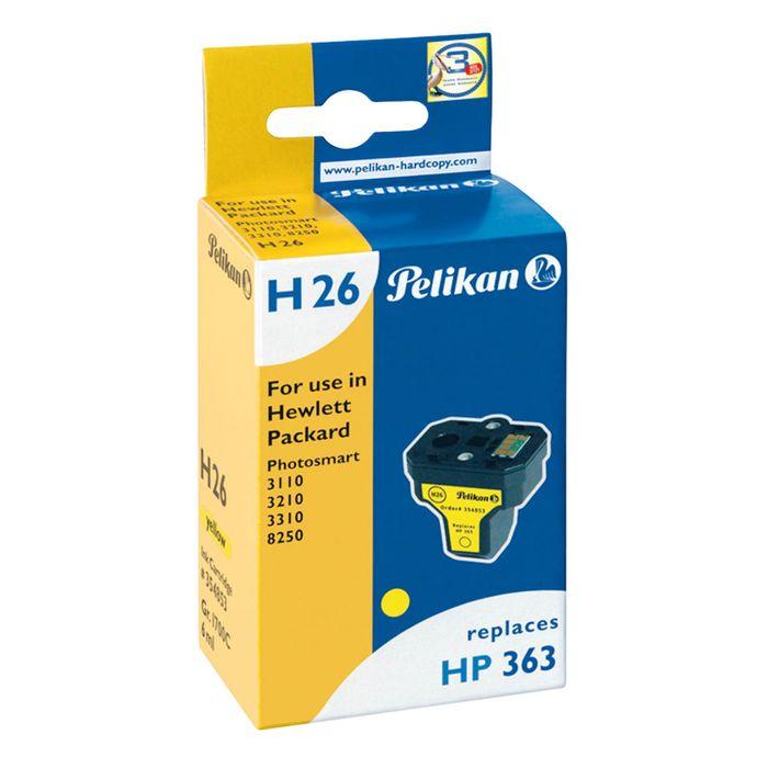 Pelikan H26 kompatibel HP C8773 HP 363 Gelb