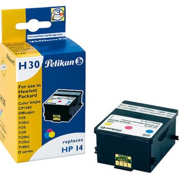 Pelikan H30 kompatibel HP 14 colour
