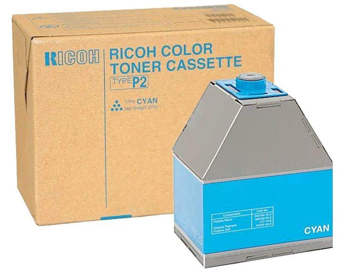 Ricoh Color Toner Cassette Type P2 Cyan 885485