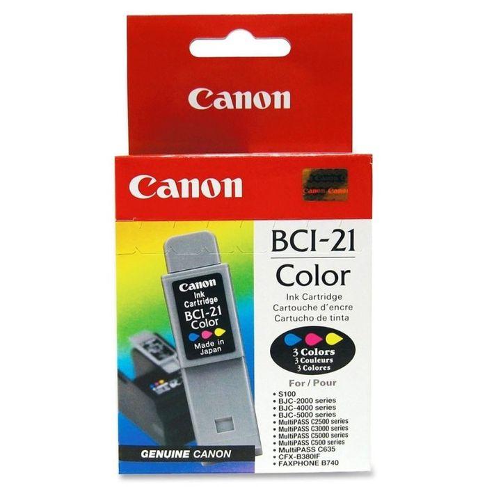 Original Canon BCI-21 Color Tintenpatrone - 0955A002