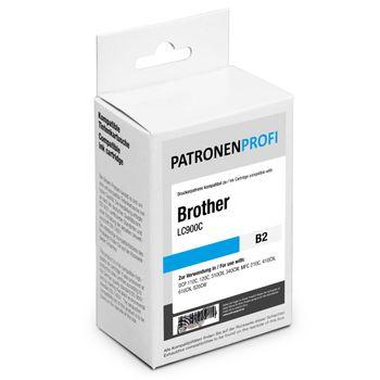PatronenProfi Tintenpatrone kompatibel für Brother LC900 Cyan