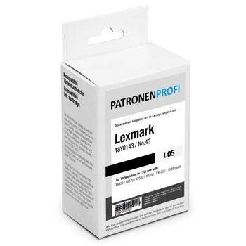 PatronenProfi Tintenpatrone kompatibel für Lexmark 42 Schwarz
