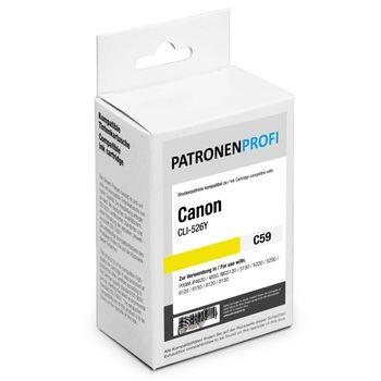 PatronenProfi Tintenpatrone kompatibel zu Canon CLI-526 Gelb