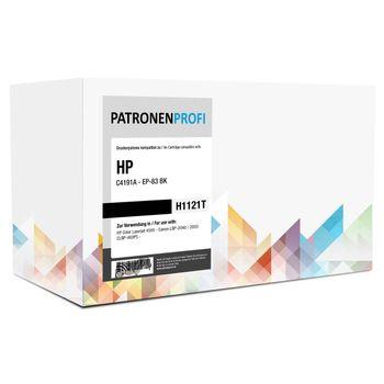 PatronenProfi Toner C4191A für HP Color Laserjet 4500 Schwarz EP-83