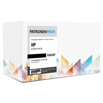 PatronenProfi Toner C7115A / EP-25 für HP Laserjet 1200 Schwarz