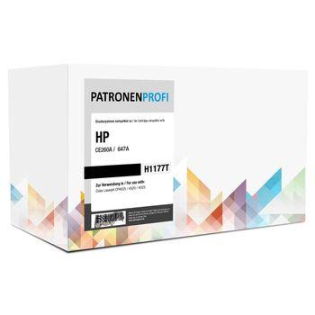 PatronenProfi Toner CE260A für HP Color Laserjet CP4025 Schwarz
