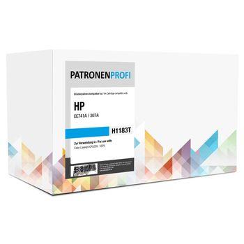PatronenProfi Toner CE741A für HP Color Laserjet CP5220 Cyan
