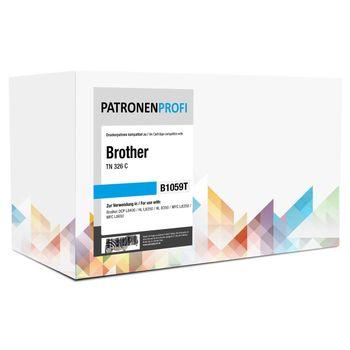 PatronenProfi Toner kompatibel Brother TN-326 Cyan Rebuild
