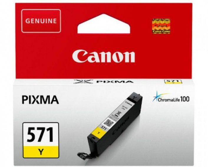 Original Canon CLI-571 yellow - 0388C001