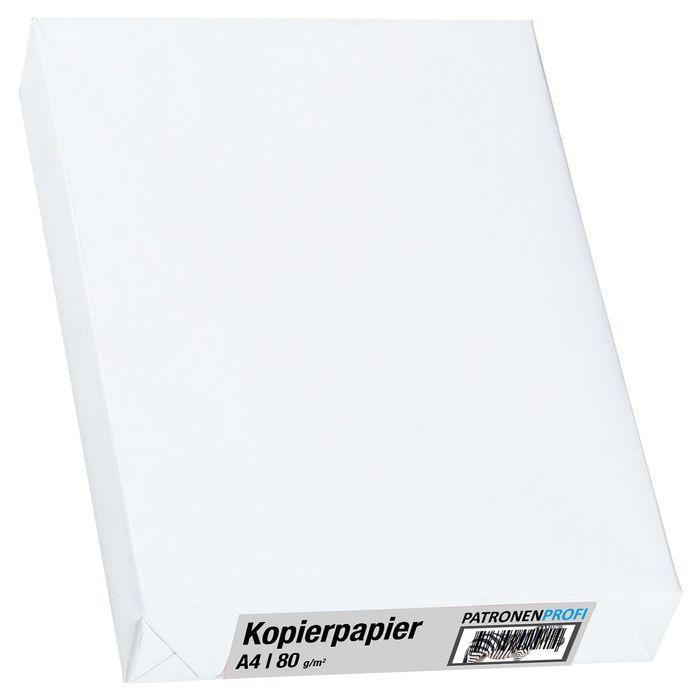 2500 Blatt Kopierpapier A4, 80g/m², weiß mit gratis Foto-Bindegerät – Bild 2