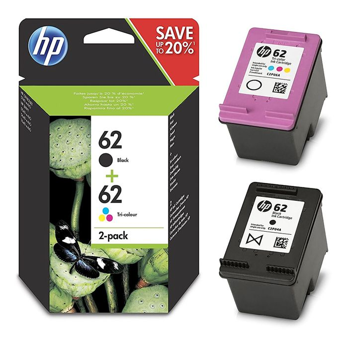 HP N9J71AE / N9J71A Nr 62 Multipack CMY+K