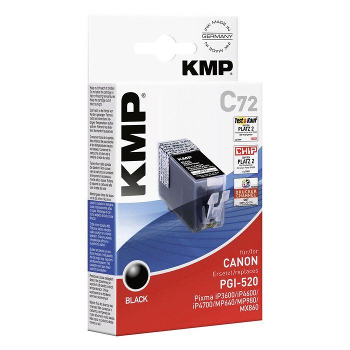 KMP C72 Canon PGI-520 Schwarz kompatibel