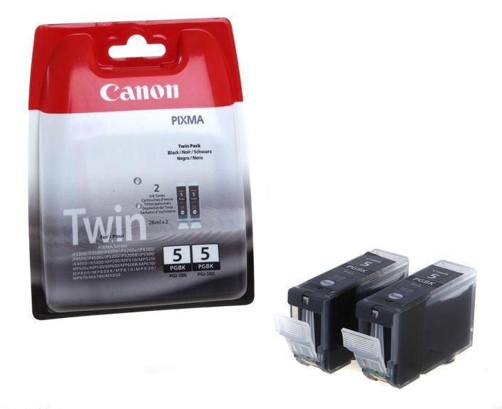 Original Canon PGI-5 Doppelpack black - 0628B030