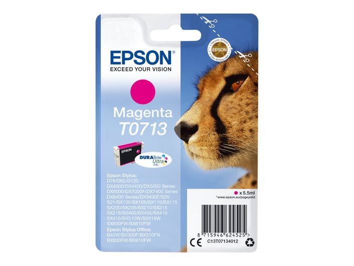 Original Epson T0713 magenta