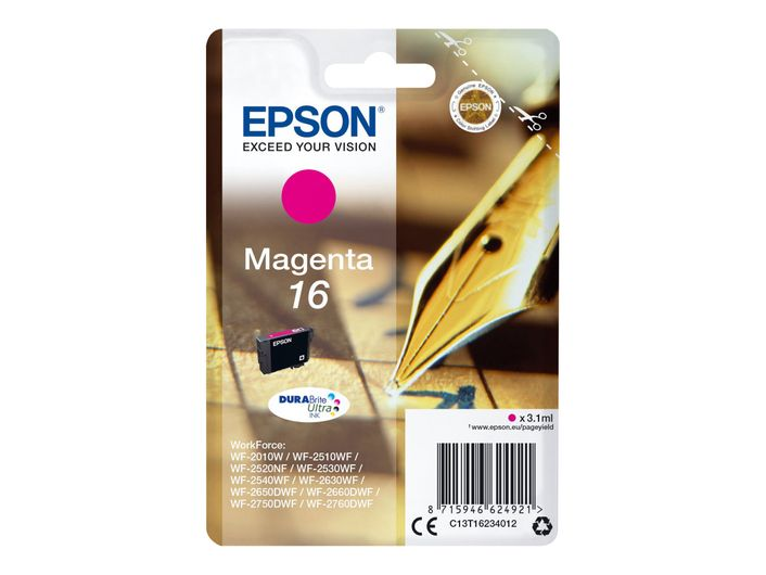 Original Epson T1623 magenta