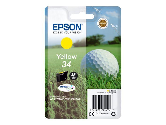Original Epson T3464 yellow