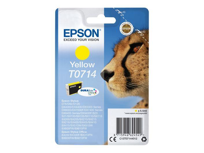 Original Epson T0714 yellow
