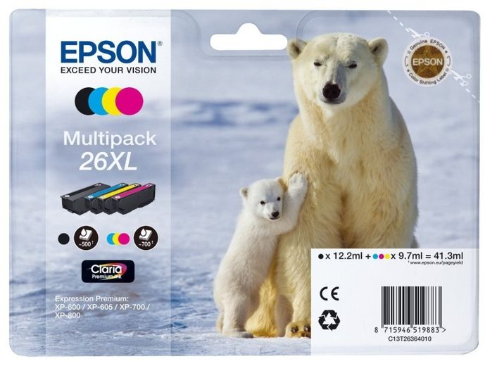Original Epson T2636 XL Multipack