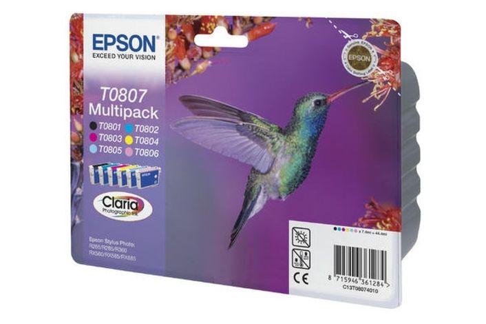 Original Epson T0807 Multipack