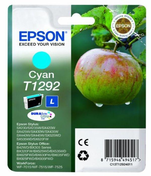 Original Epson T1292 cyan