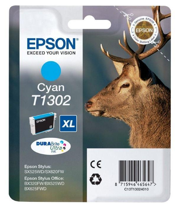 Original Epson T1302 cyan