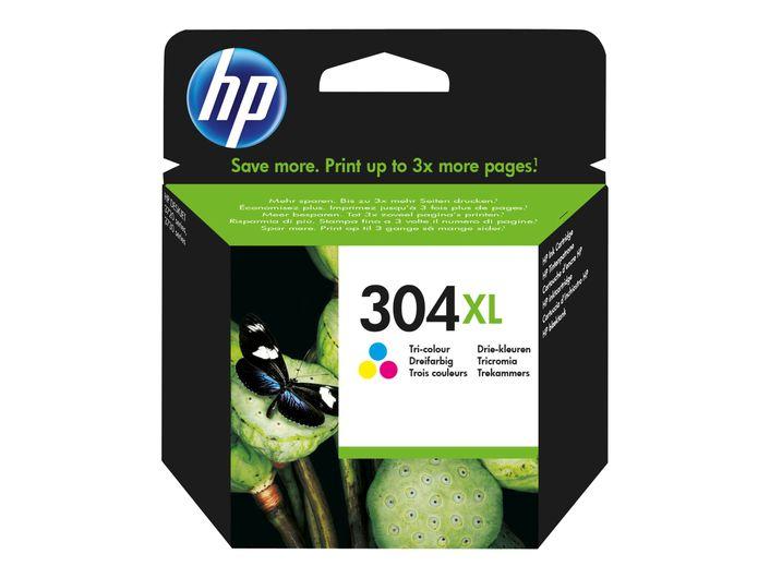 Original HP 304 XL colour - N9K07AE
