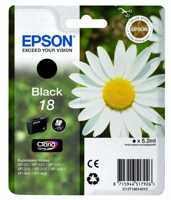 Original Epson T1801 black Nr. 18