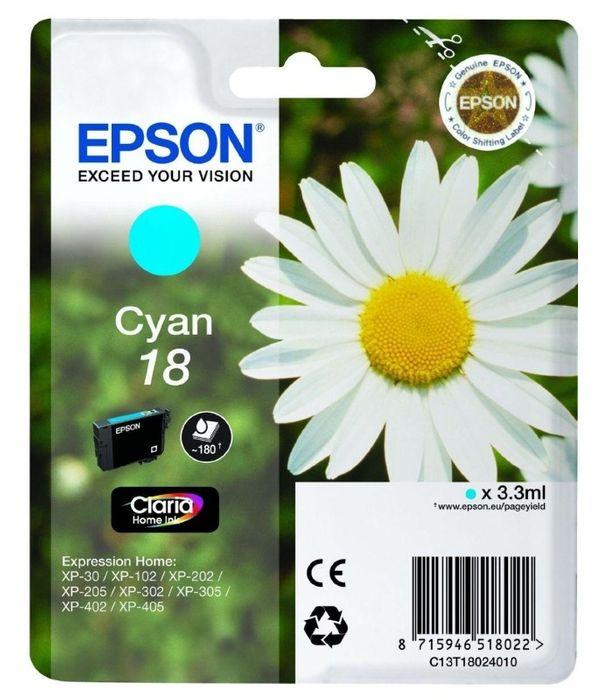 Original Epson T1802 cyan