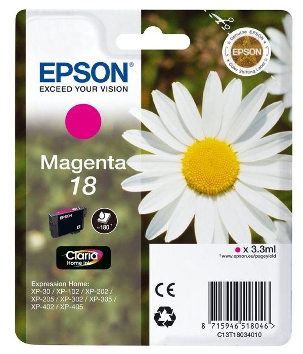 Original Epson T1803 magenta