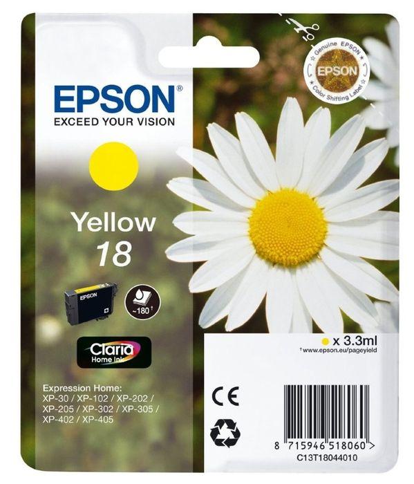 Original Epson T1804 yellow