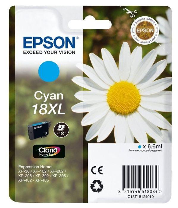 Original Epson T1812 XL cyan