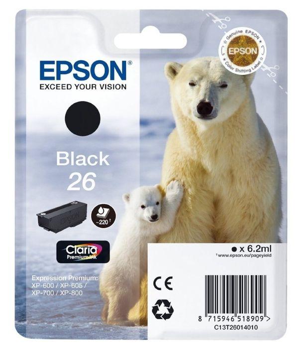 Original Epson T2601 black