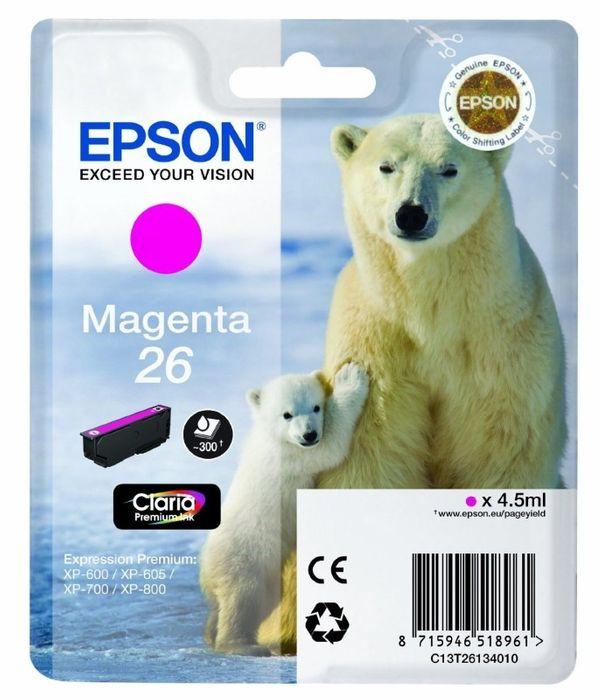 Original Epson T2613 magenta