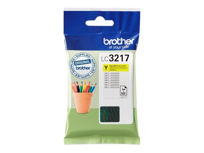 Original Brother Patrone LC-3217 / LC3217 Y yellow