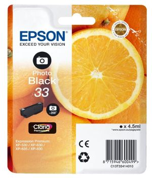 Epson T3341 PB Orange Photo Schwarz
