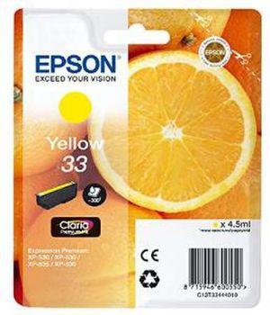Original Epson T3344 yellow