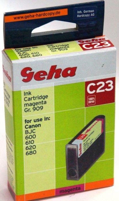 Geha C23 kompatibel Canon BJC 600/610/620 Magenta
