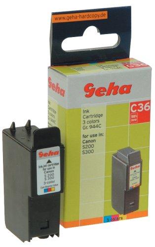 Geha C36 kompatibel Canon BCI-24C Color