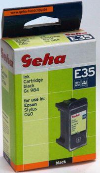 Geha E35 kompatibel Epson Stylus C60 Schwarz