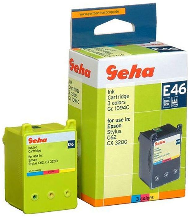 Geha E46 kompatibel Epson T041040 Colors Epson Stylus C62, CX 3200